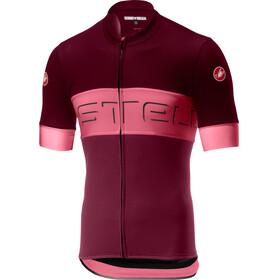 Castelli Prologo VI Jersey Men barbaresco red/pink/granata red
